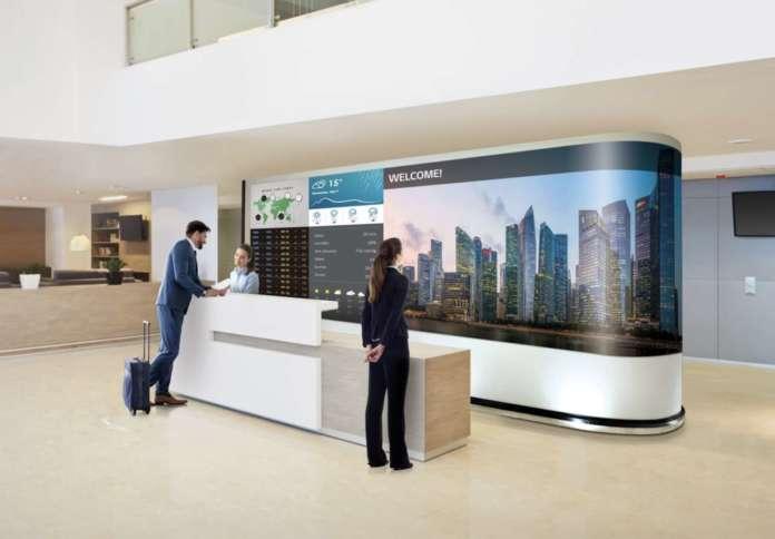 LG Electronics LED Wall