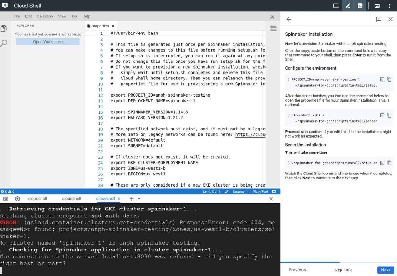 Spinnaker per Google Cloud Platform