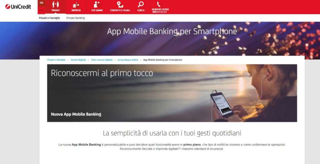 unicredit smartphone