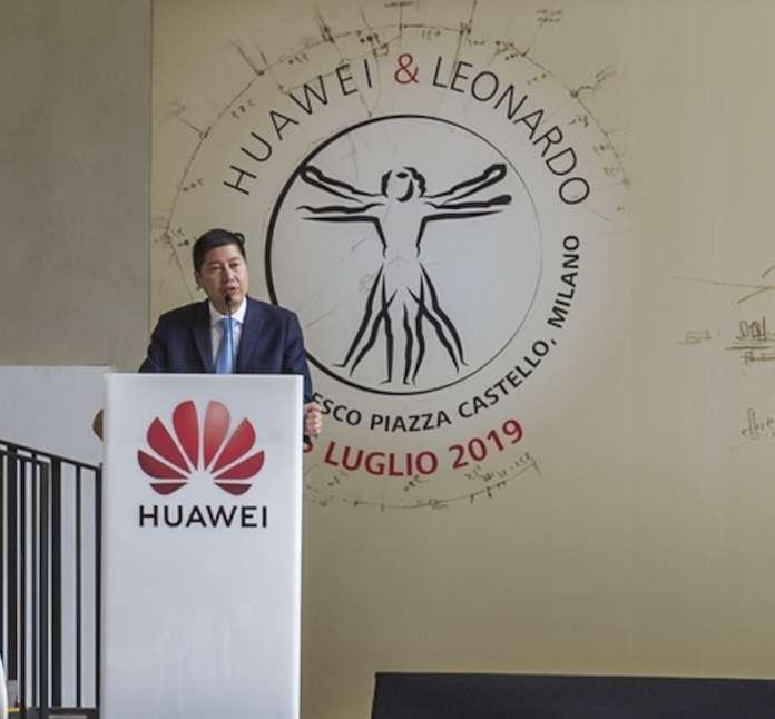 Huawei investe in Italia: