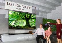 TV 8K LG SIGNATURE OLED