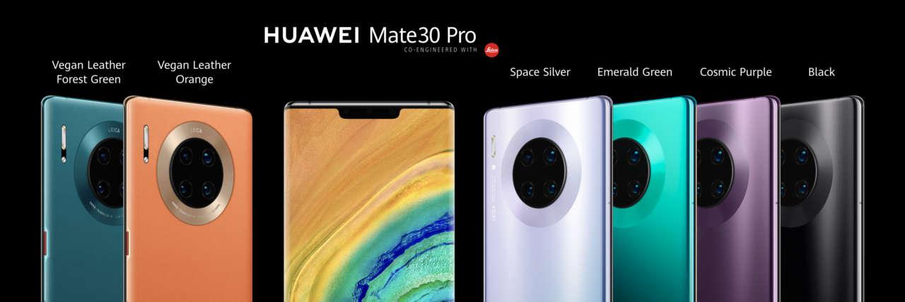 Huawei Mate 30 Pro gamma