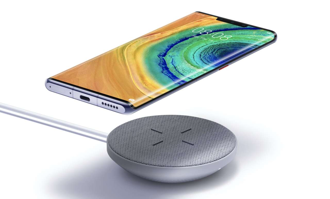 Huawei Mate 30 Pro ricarica wireless