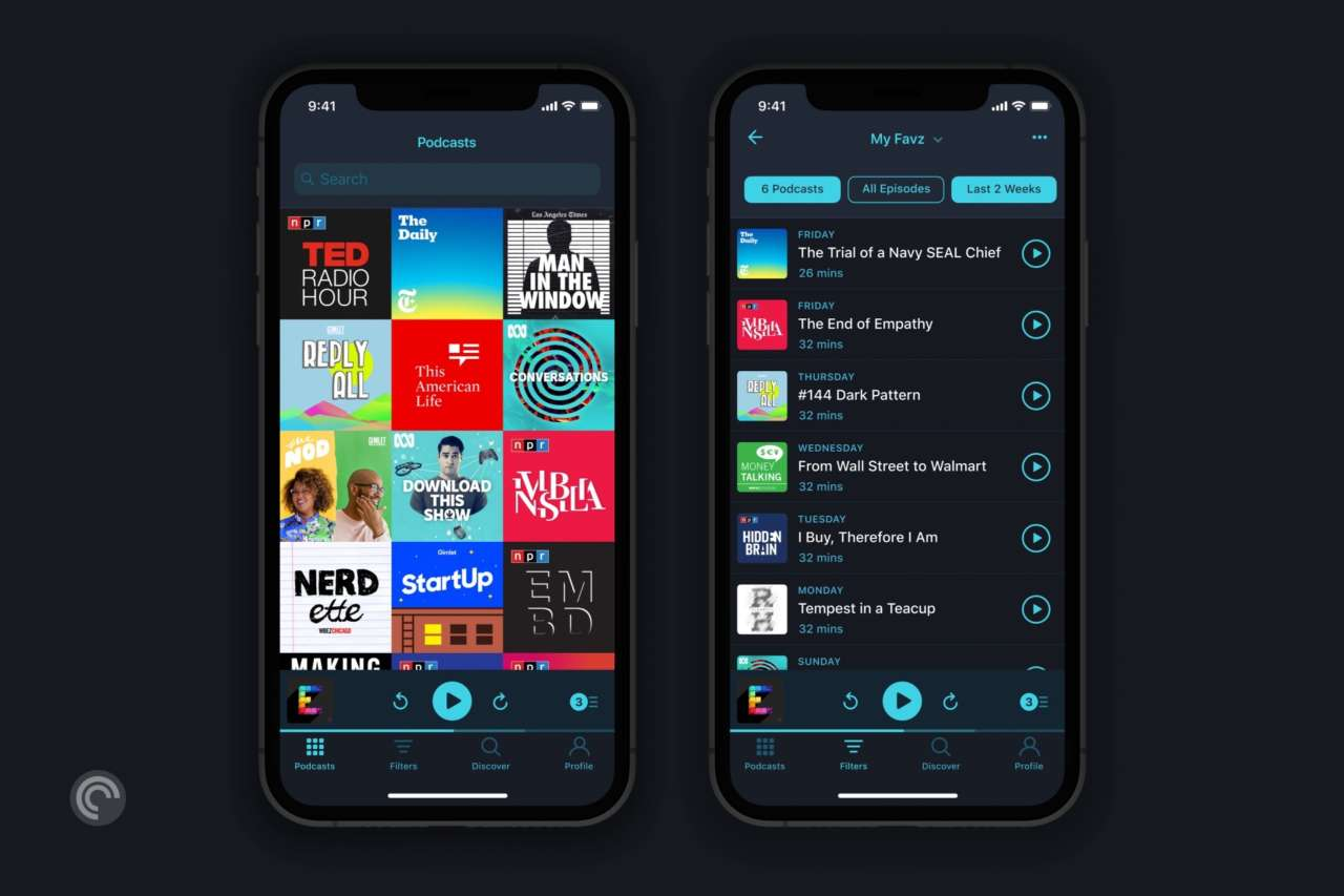 podcast Pocket Casts