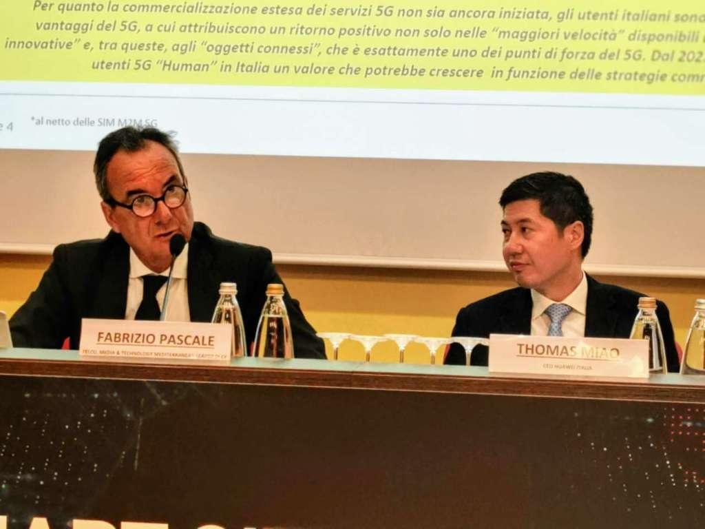 Fabrizio Pascale e Thomas Miao