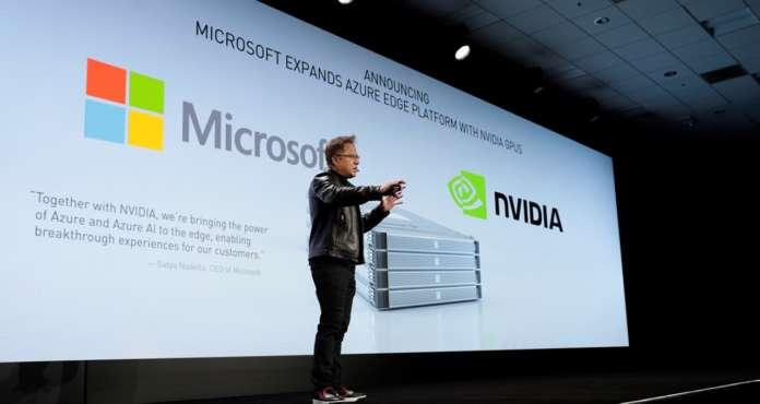 Intelligent Edge Nvidia Microsoft