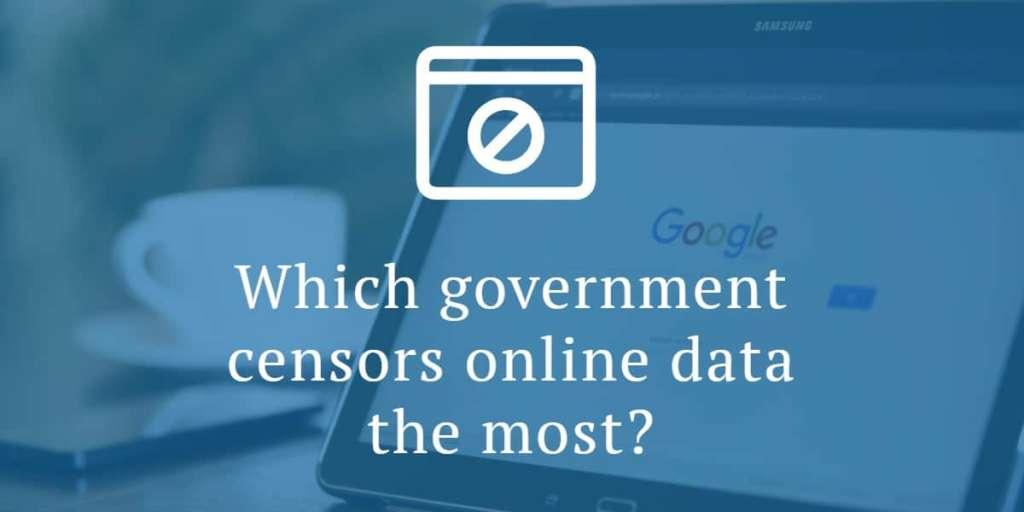 censure governative internet