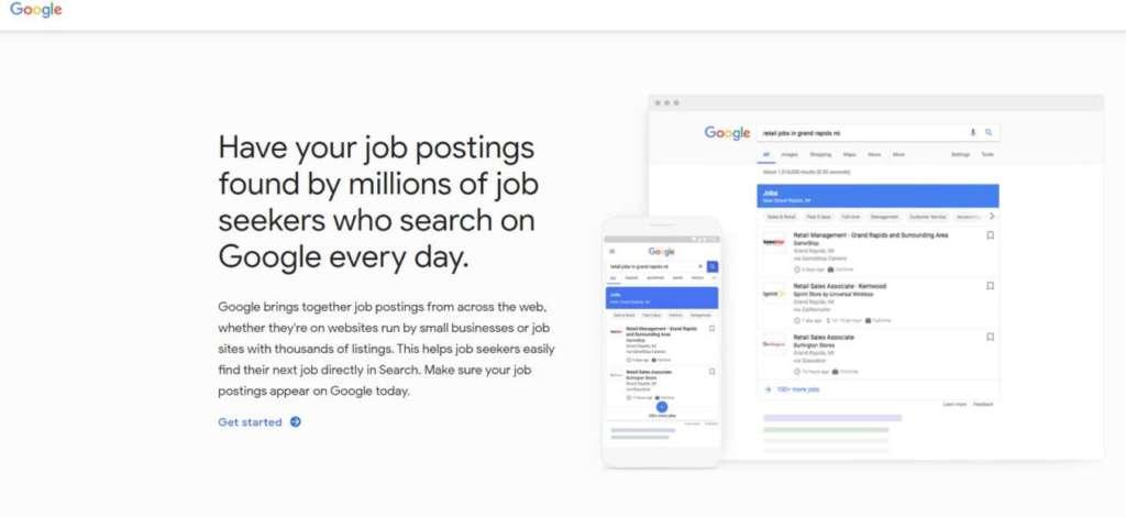 google lavoro