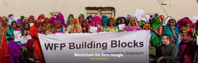 World Food Programme blockchain