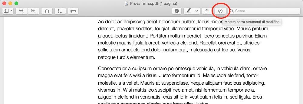 firmare pdf macOS