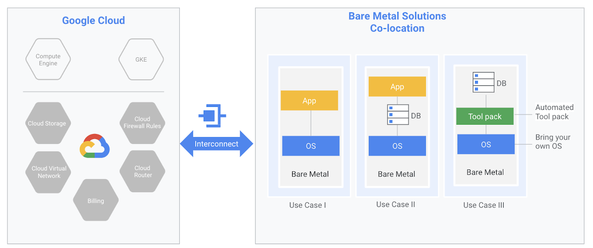 Bare Metal Solution Google Cloud