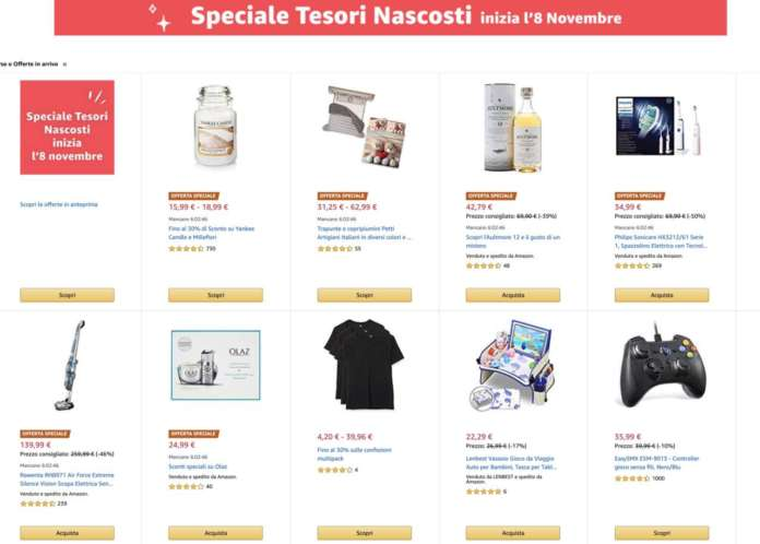 Amazon Speciale Tesori Nascosti