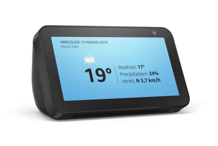 Amazon Alexa previsioni del tempo
