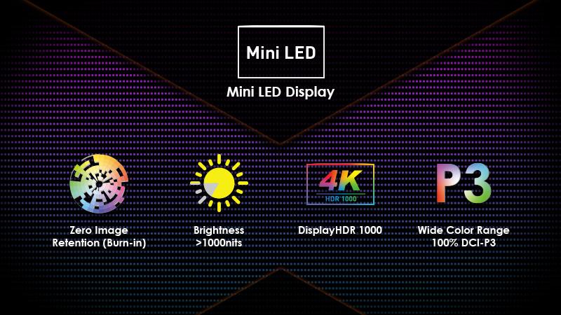 display Mini LED Msi