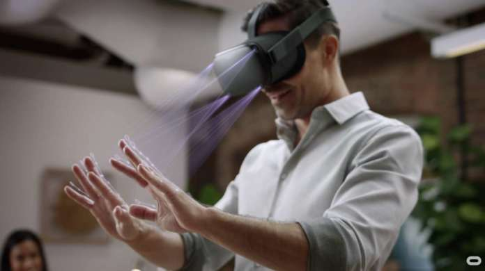 Oculus hand tracking