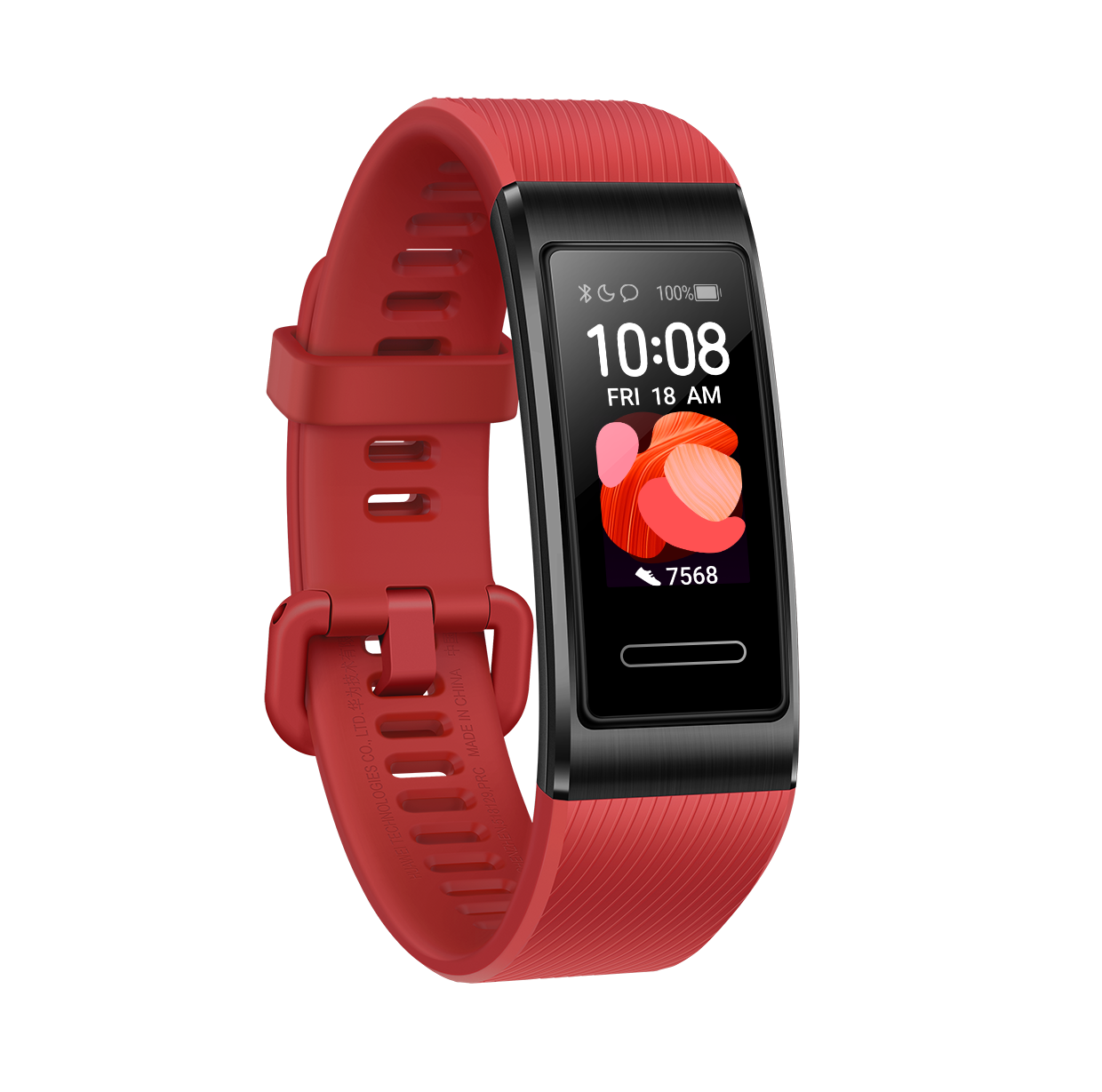 Huawei Band 4 Pro_Red