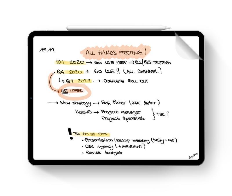 Apple Pencil iPad doodroo