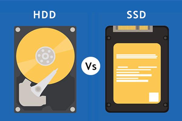 SSD vs hard disk Context