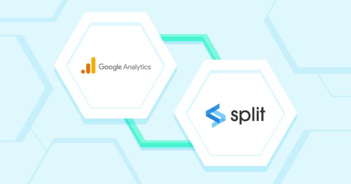 Google Analytics continuous delivery Split