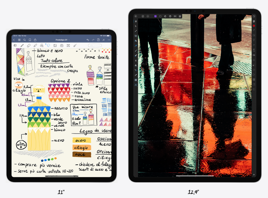 iPad Pro 2020 confronto