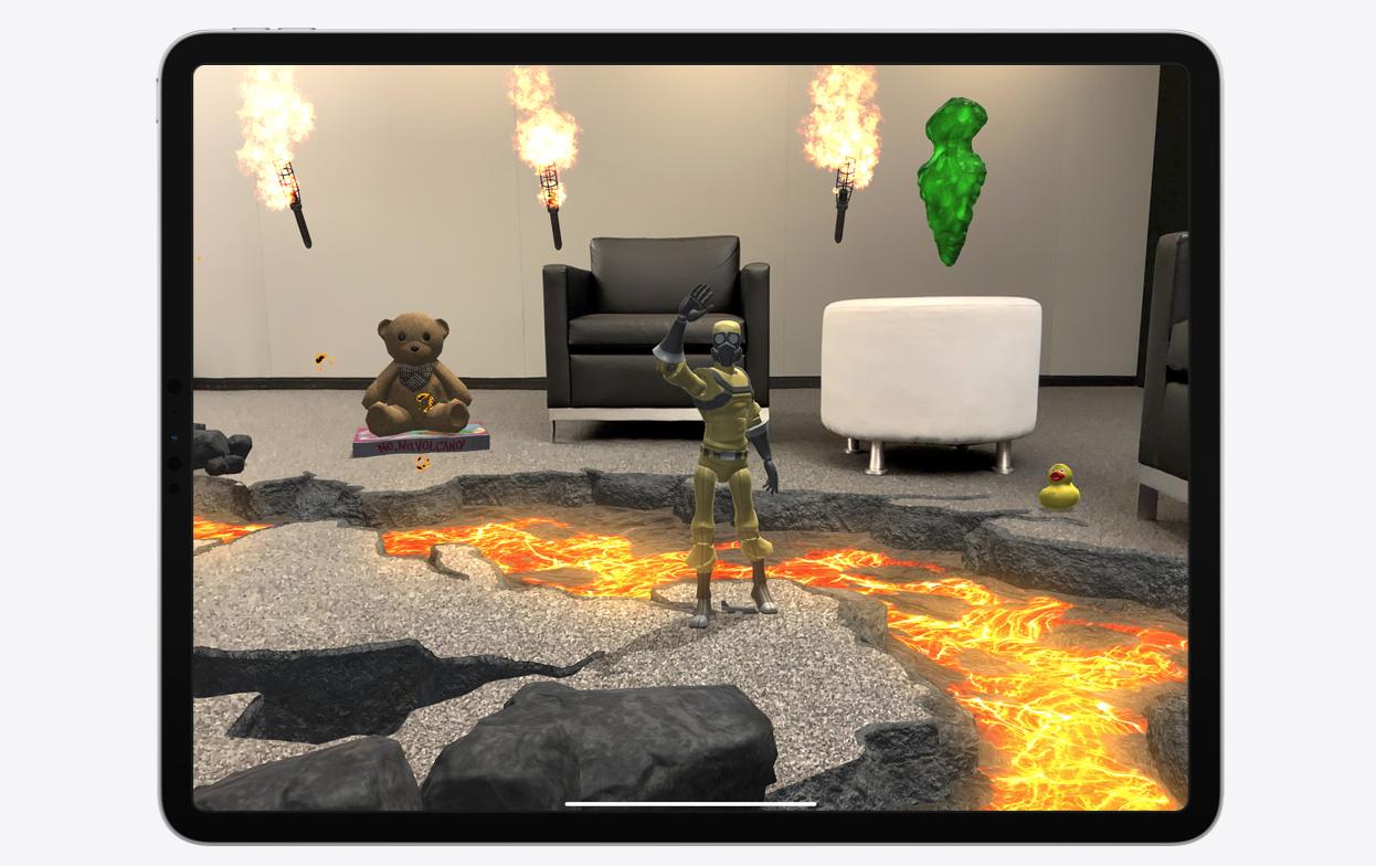 iPad Pro 2020 realtà aumentata