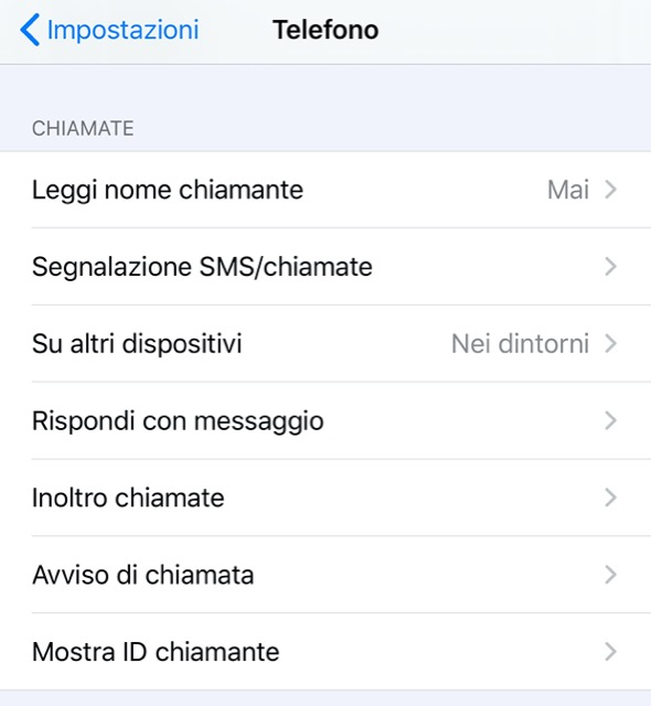 rispondi con messaggio iOS