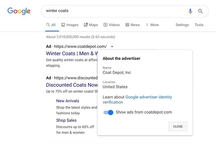Google inserzionisti