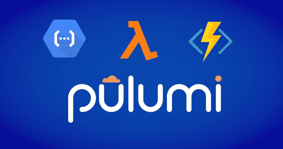 Infrastructure as Code Pulumi