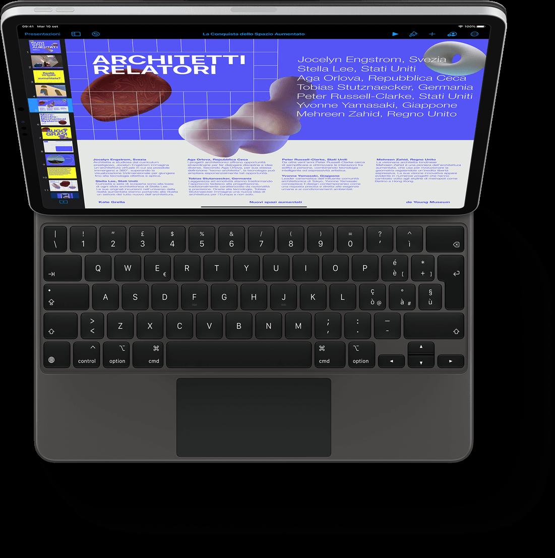 iPad Pro MagicKeyboard