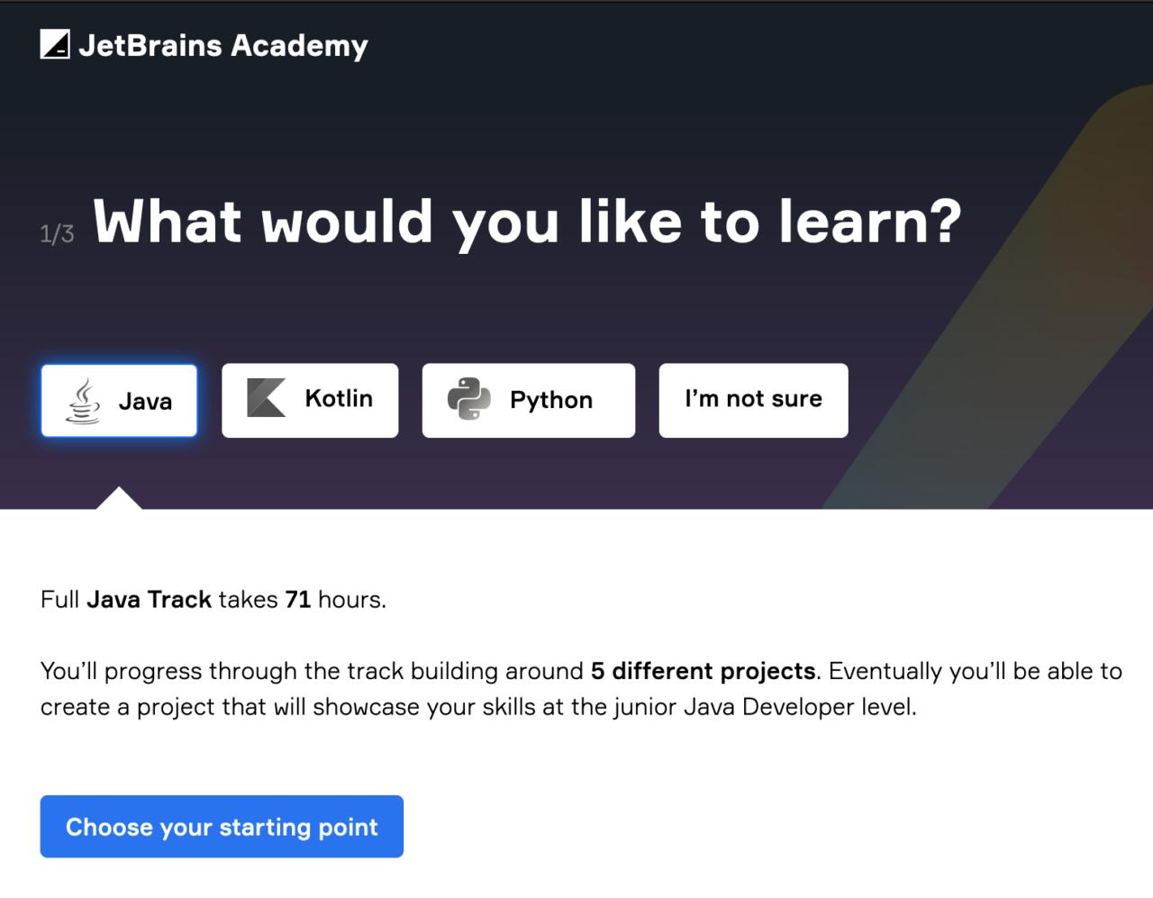 JetBrains Academy