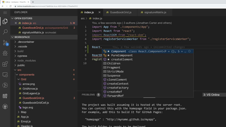 Microsoft Visual Studio Codespaces