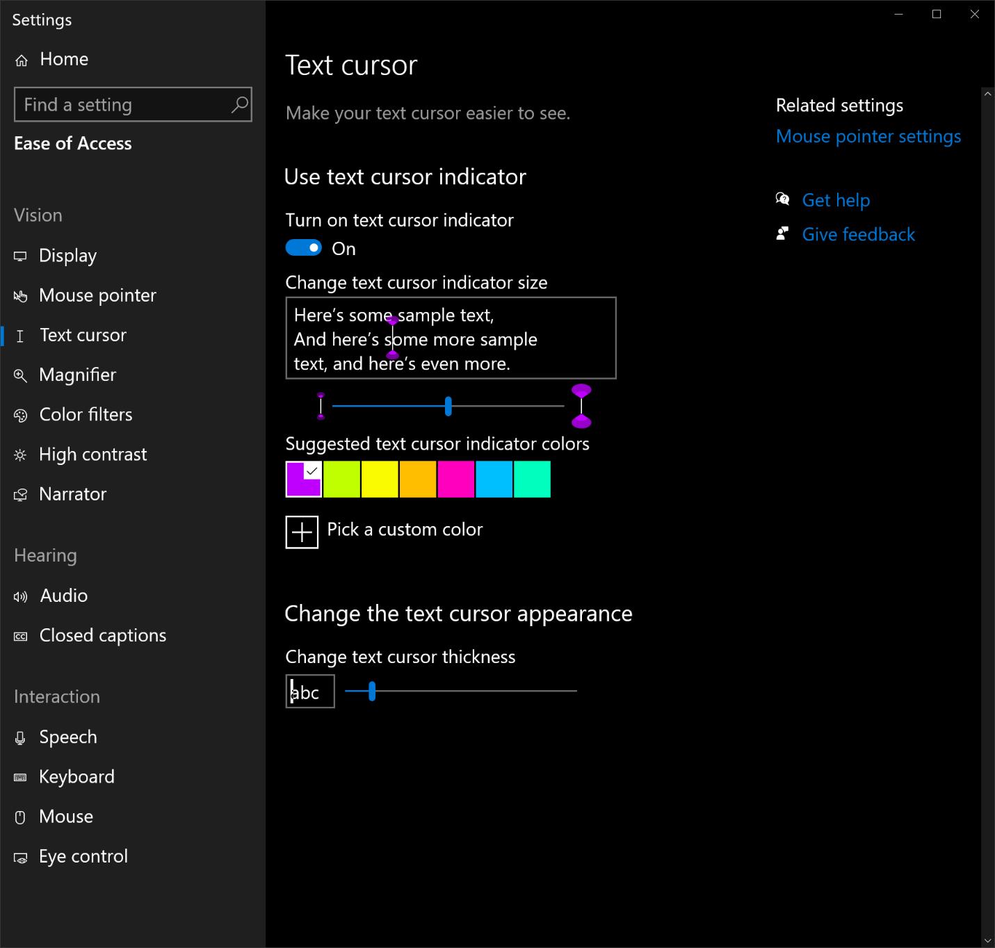 Windows 10 accessibilità