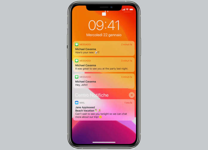 Notifiche iPhone