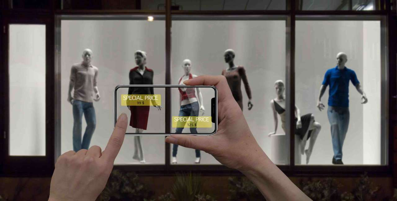 realtà aumentata retail