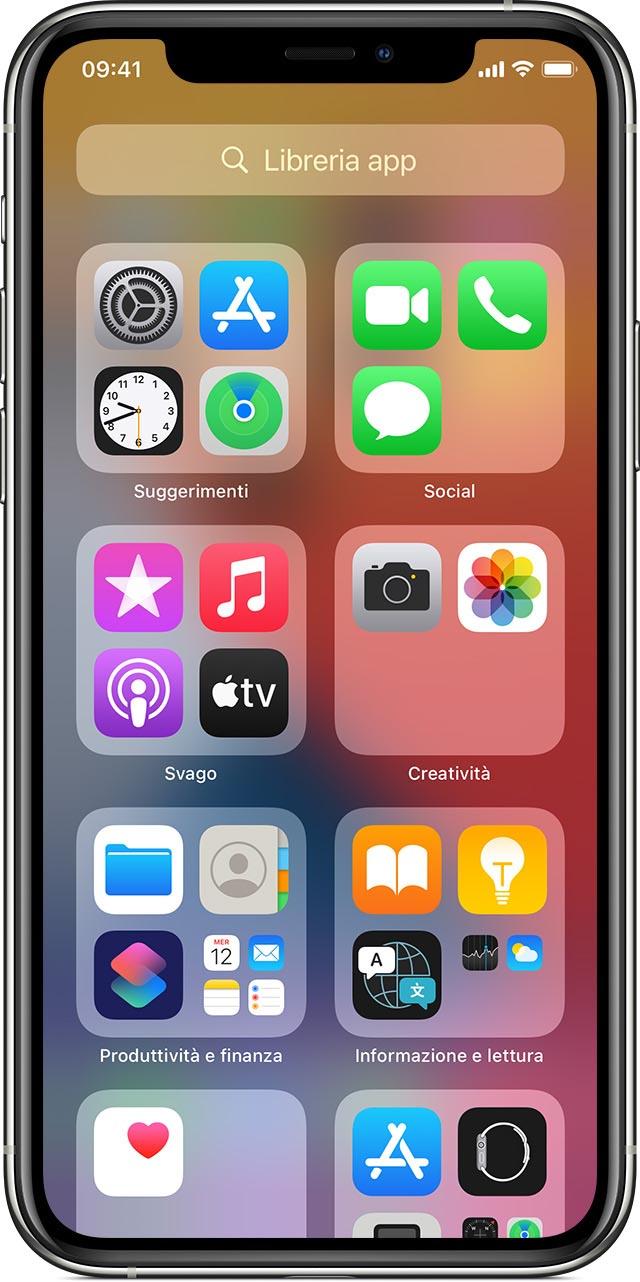 Libreria app iOS 14
