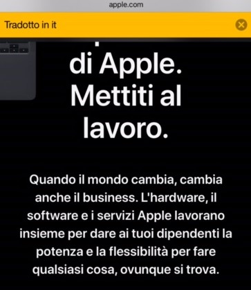 iPhone web