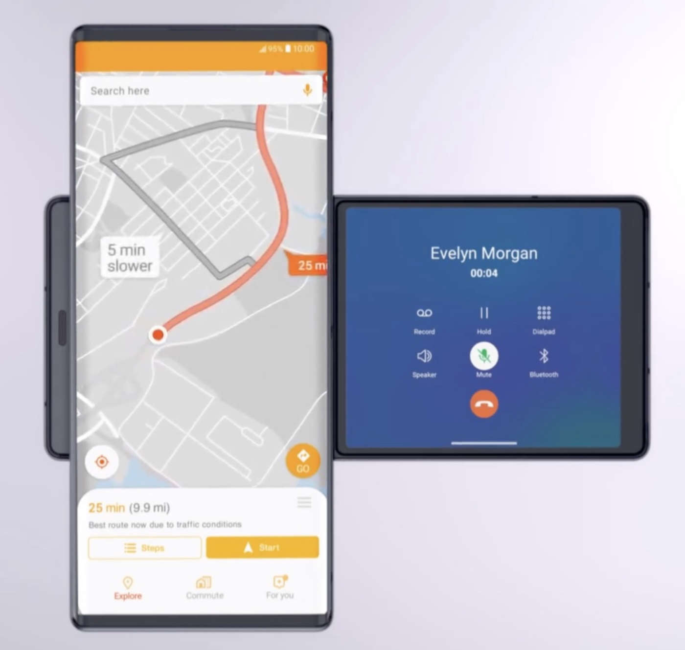 LG Wing mappe
