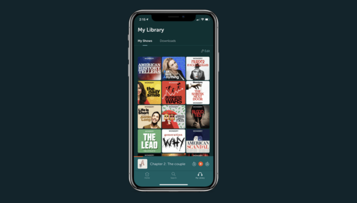 Amazon podcast Wondery