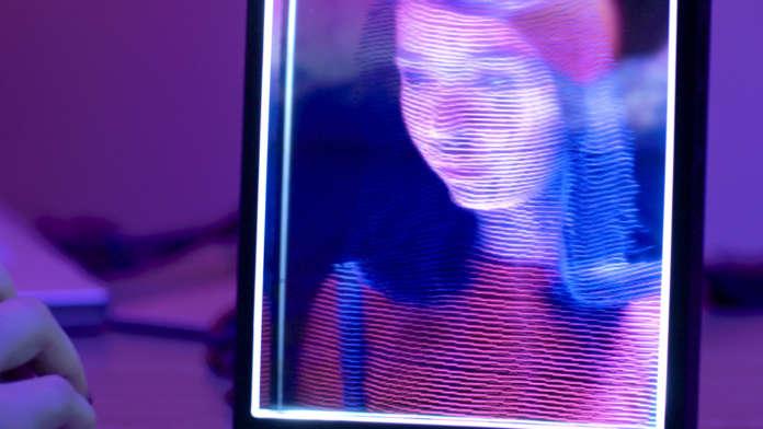 display olografico Looking Glass Portrait