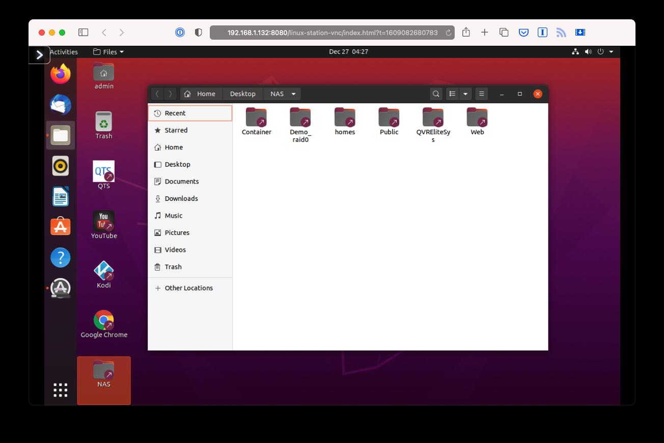 QNAP TS-h973AX - Ubuntu