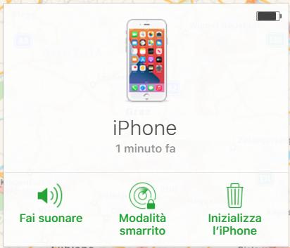Trovare iPhone