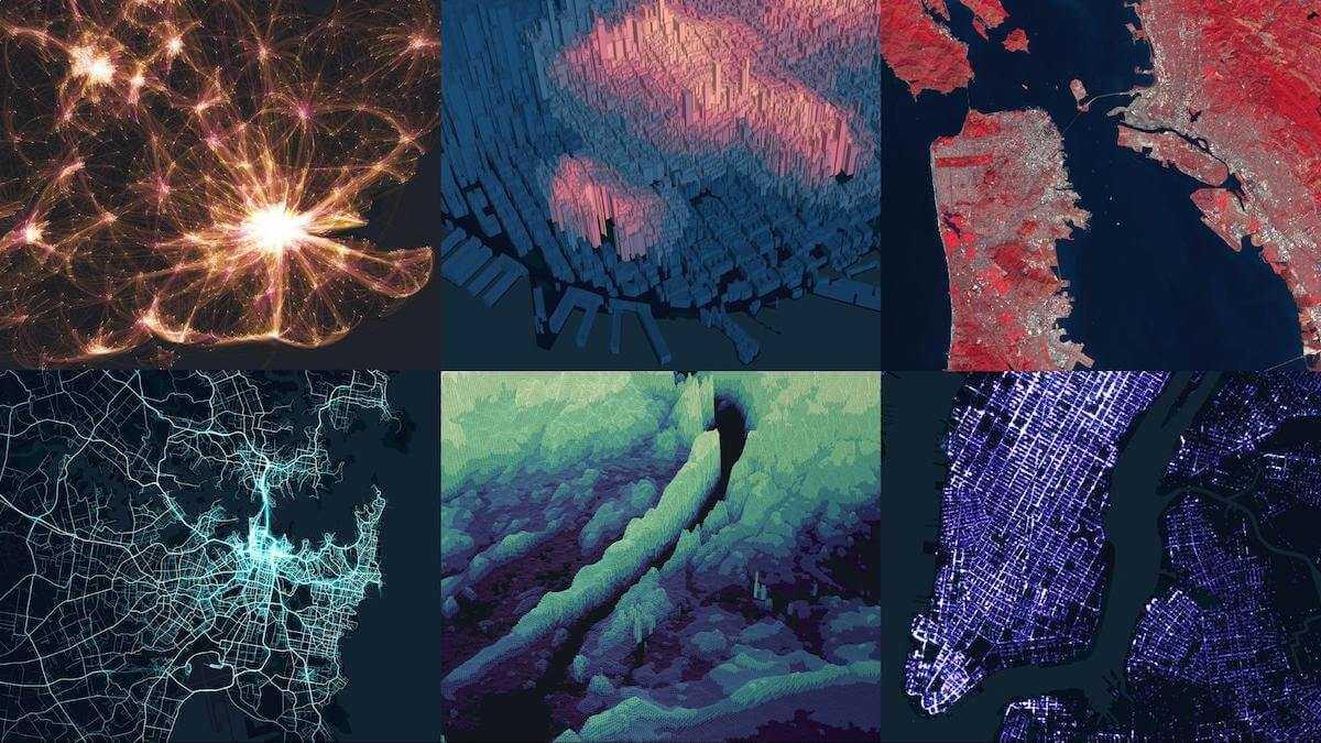 dati geospaziali Unfolded Studio