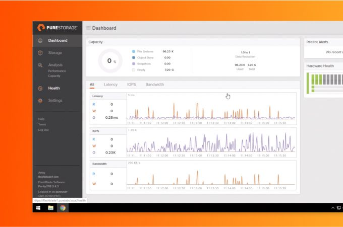 pure storage data experience