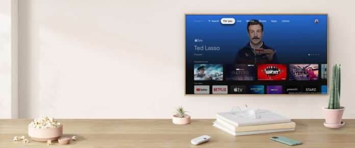 Apple TV Google