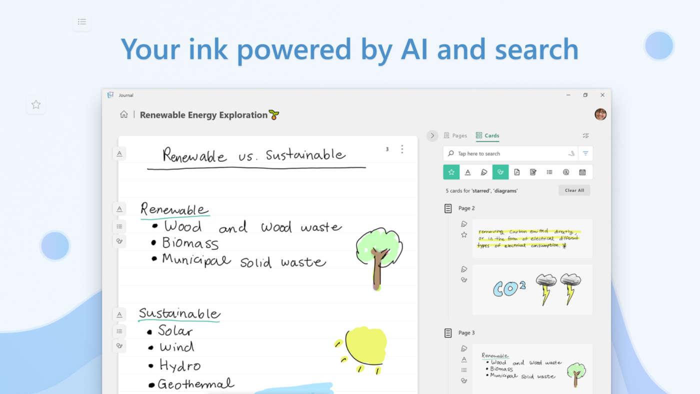Journal Microsoft