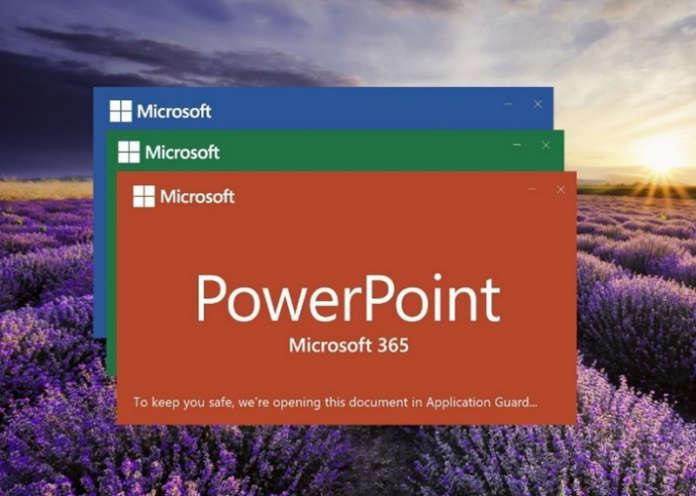 Application Guard Office Microsoft