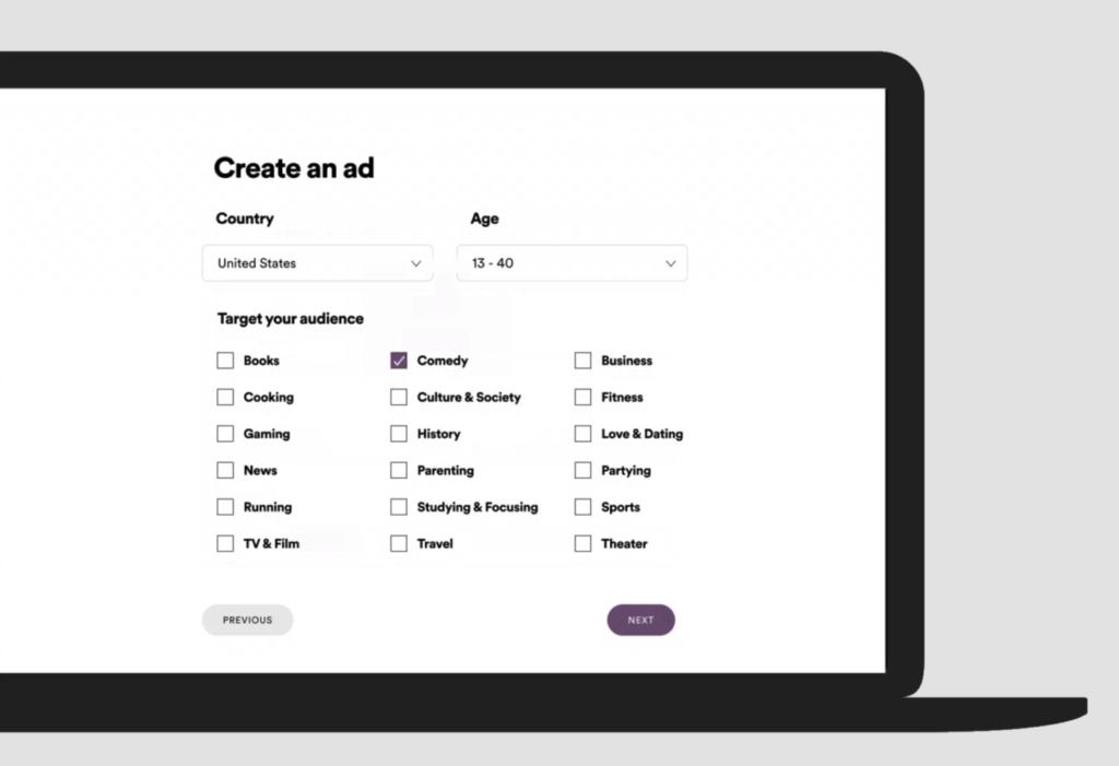 spotify ad studio