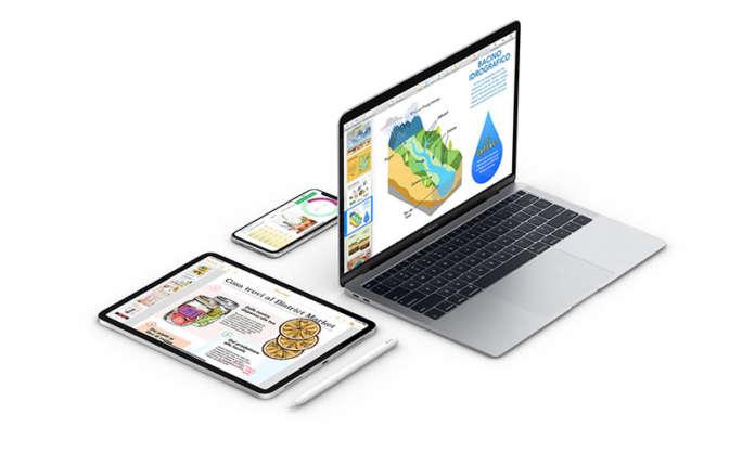 Apple produttività iWork