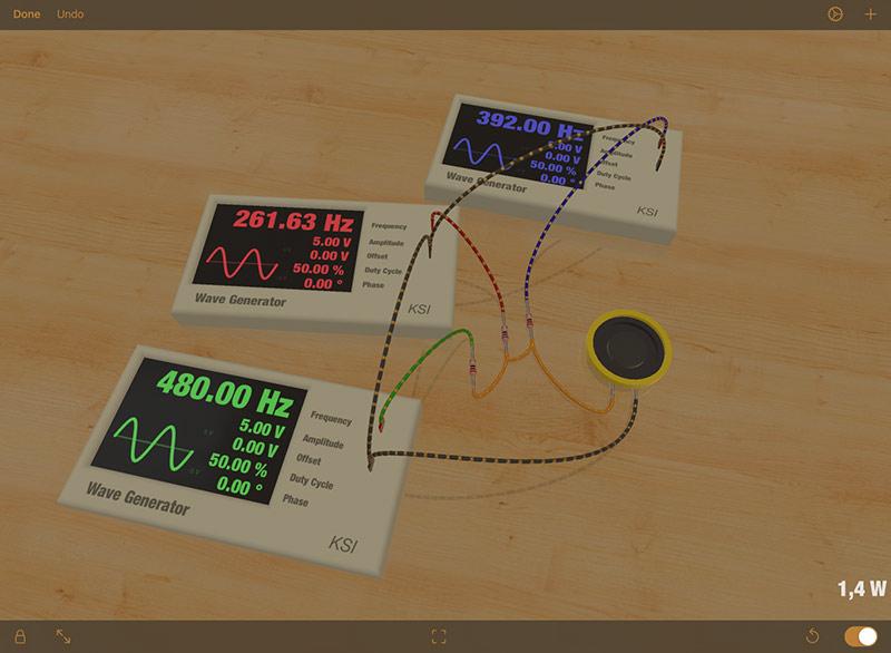 elettronica iPad iCircuit 3D