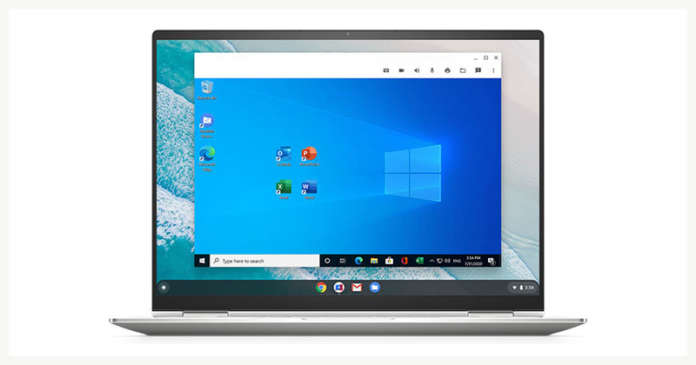 Chrome OS Windows Parallels